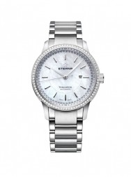 Eterna Tangaroa Lady white steel diamond