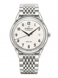 Eterna Heritage 1948 For Him Automatic arabic silver steel