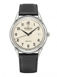 Eterna Heritage 1948 For Him Automatic arabic white leather