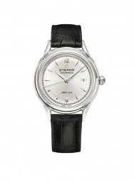 Eterna Heritage 1948 For Her Automatic silver leather