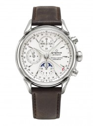 Eterna Heritage 1948 For Him Chronograph white leather