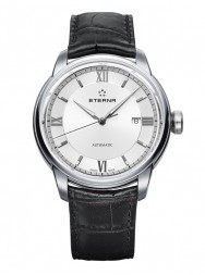 Eterna Adventic Date white leather