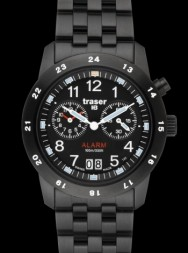 Traser Classic Alarm Big Date Pro Blue
