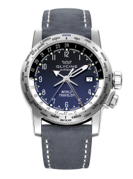 Glycine Airman World Traveler 3939.18.LB8B