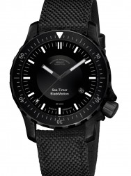 Mühle-Glashütte Sea-Timer Black Blackmotion