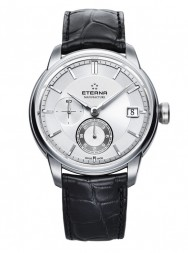 Eterna Adventic GMT white alligator