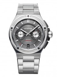 Eterna Royal Kontiki Chronograph Flyback anthrazite steel