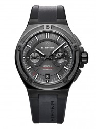 Eterna Royal Kontiki Chronograph Flyback anthrazite rubber PVD