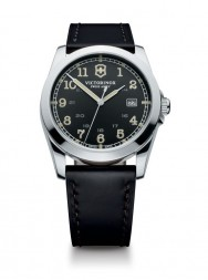 Victorinox Infantry black leather black