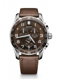 Victorinox Chrono Classic XLS brown leather