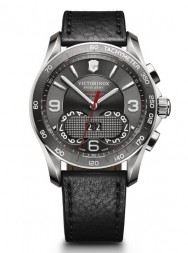 Victorinox Chrono Classic 1/100 grey leather