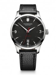 Victorinox Alliance Mechanical matt black leather