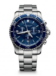 Victorinox Maverick Chronograph blue steel