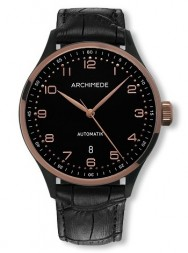 Archimede Klassik 42 Bicolor two-tone case PVD black