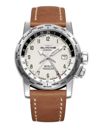 Glycine Airman World Traveler 3939.111.LB7BH