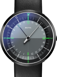Botta-Design DUO Black-Green Black Edition Quartz