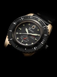 Squale Master Power Reserve 600m gray bronze
