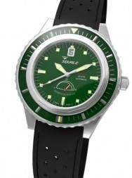 Squale Master Power Reserve 600m green