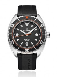 Eterna Super Kontiki black / red rubber