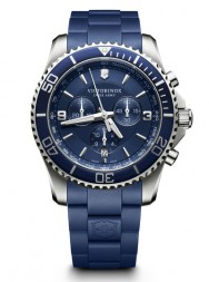 Victorinox Maverick Chronograph blue rubber