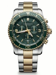 Victorinox Maverick Chronograph green steel