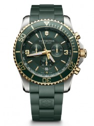Victorinox Maverick Chronograph green rubber