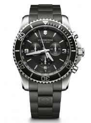 Victorinox Maverick Chronograph black rubber