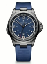 Victorinox Night Vision blue PVD rubber