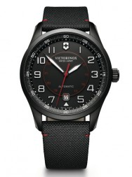 Victorinox AirBoss Mechanical Black Edition leather