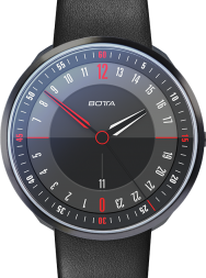 Botta-Design TRES 24 PLUS Black Edition Black Quartz