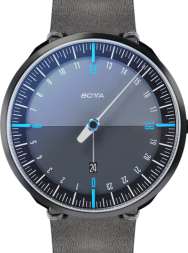 Botta-Design UNO 24+ Black Edition Blue Quartz