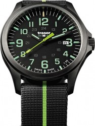 Traser P67 Officer Pro Gunmetal Black/Lime