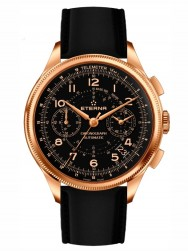 Eterna Heritage 1940 Chronograph Telemeter with flyback function Bronze Manufacture