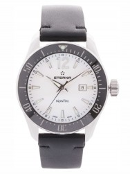 Eterna Lady KonTiki Diver Quartz White/Black