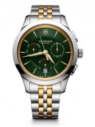 Victorinox Alliance Chronograph green bicolor steel