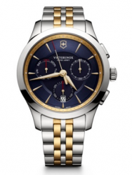 Victorinox Alliance Chronograph blue bicolor steel