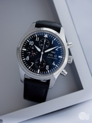 c1ed387aa IWC Pilot's Chronograph IW371701 KOMISE 420190041komisní prodej