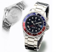 Steinhart GMT - OCEAN 1 BLUE RED