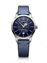 Victorinox Alliance Small blue leather II