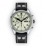 Laco Flieger Havanna - 44 mm automat