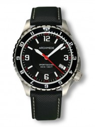 Archimede SportTaucher GMT black