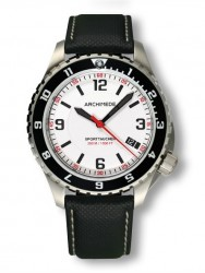 Archimede SportTaucher GMT white