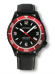 Archimede SportTaucher Black red