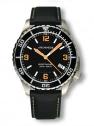 Archimede SportTaucher steel/orange