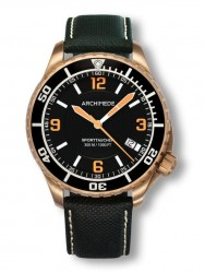 Archimede SportTaucher Bronze black/orange