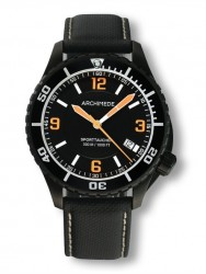 Archimede SportTaucher Black orange