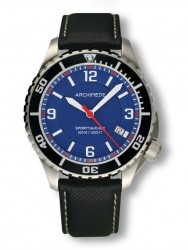 Archimede SportTaucher steel/blue/black