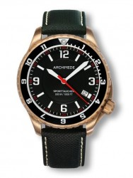 Archimede SportTaucher Bronze GMT black