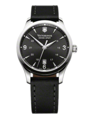 Victorinox Alliance black leather