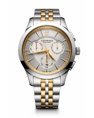 Victorinox Alliance Chronograph white steel